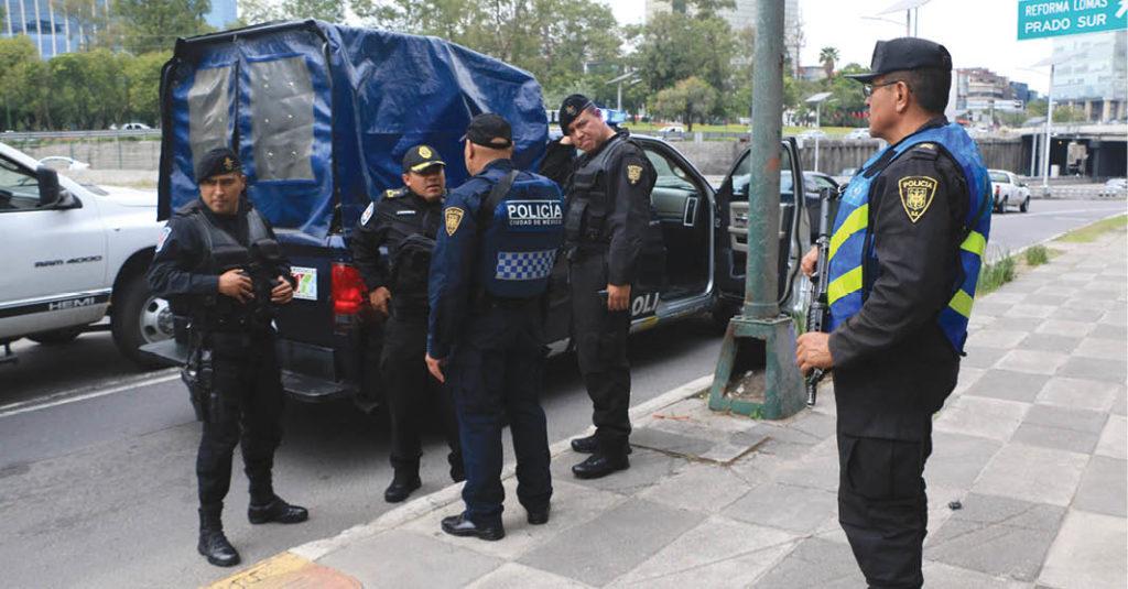 la delincuencia continuó a la baja en la capital del país durante los primeros cuatro meses de 2021