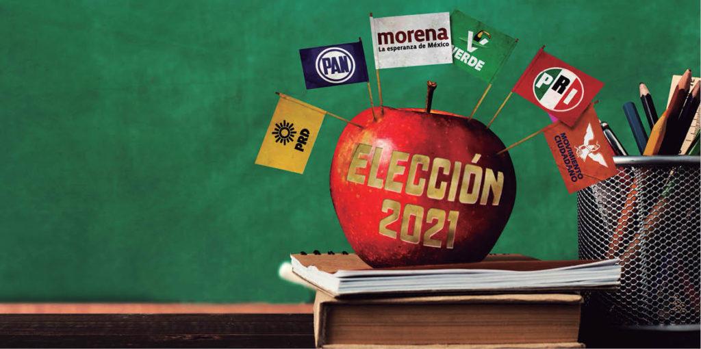 Los docentes de Nuevo León han acudido a actos de campaña de los candidatos a la gubernatura para escuchar las propuestas hacia el gremio