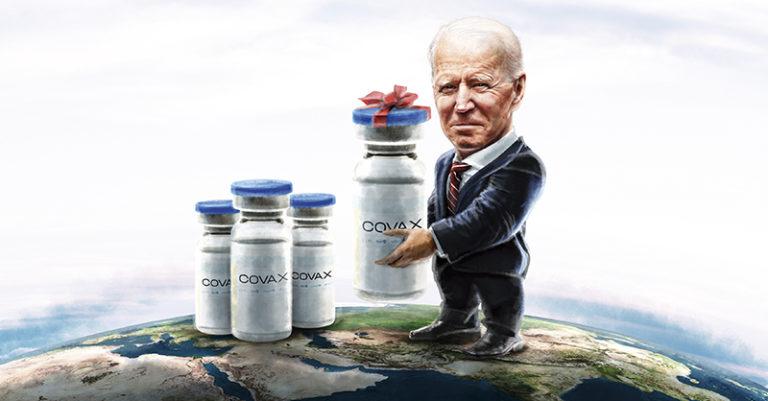 Con la donación de vacunas contra el COVID-19 a países del extranjero, el presidente Joe Biden busca apoyar a los menos favorecidos