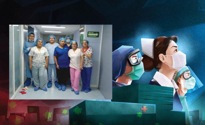En entrevista con Reporte Índigo,las enfermeras coincidieron en que a pesar del cansancio y los momentos difíciles que han tenido que superar, les gusta mucho su trabajo, el cual es fundamental y la población no siempre valora.