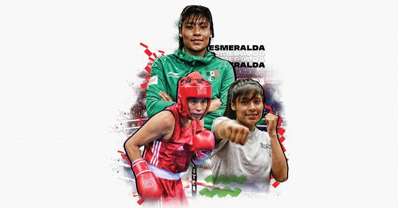 Esmeralda Falcón será la primera mexicana en boxear en Juegos Olímpicos