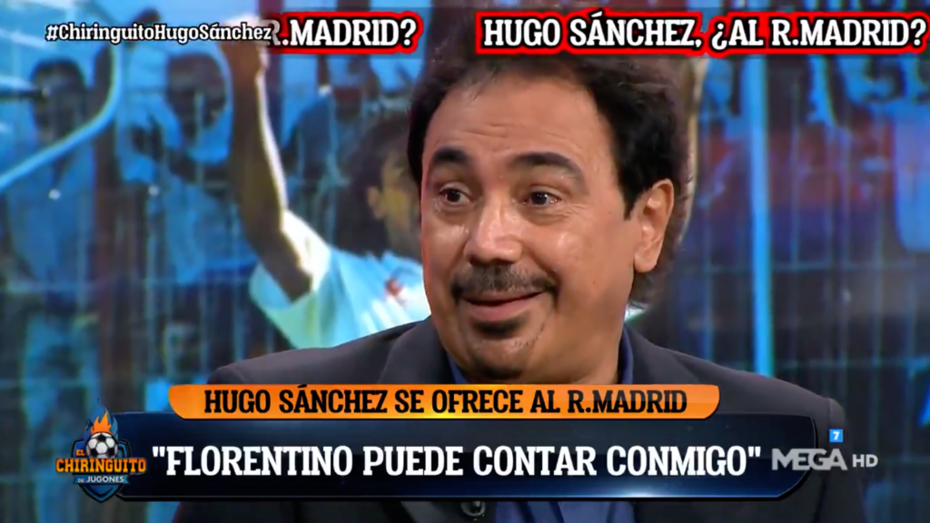 'Florentino, no te olvides de mí', Hugo Sánchez se ofrece otra vez al Real Madrid (VIDEO)