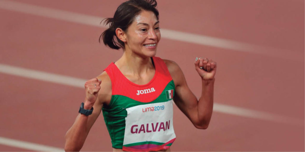La atleta Laura Galván dio la marca establecida para los Juegos Olímpicos de Tokio