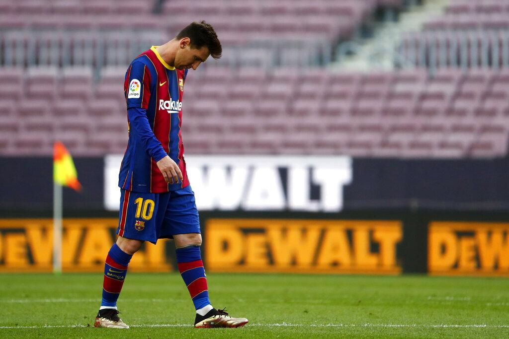 Messi no jugará el último partido de liga con Barcelona