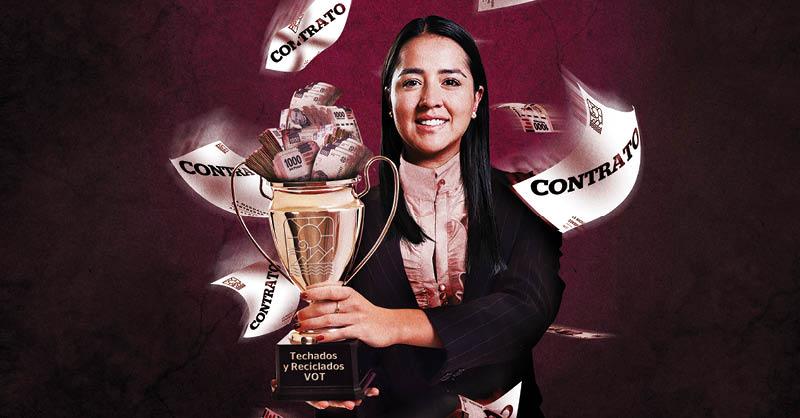 L la alcaldía Magdalena Contreras premió a una empresa con un contrato de 400 mil pesos