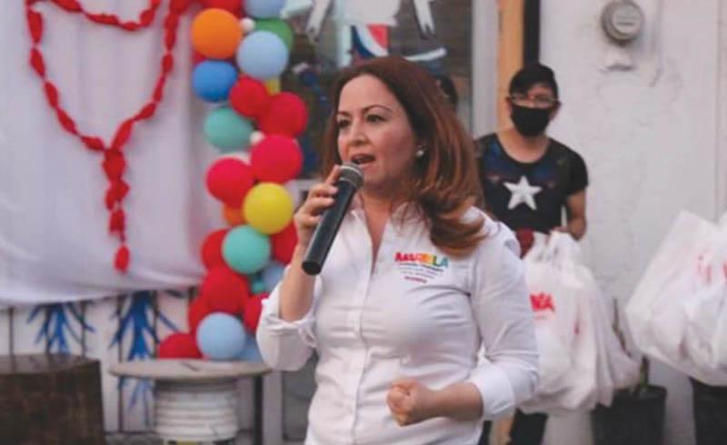 Mariela Saldívar no podrá contender por una diputación.