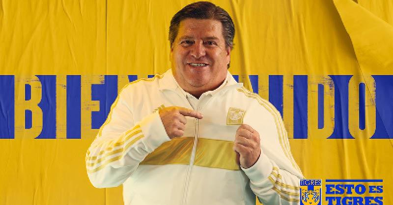 Miguel Herrera aseguró durante su presentación como entrenador de Tigres quiere igualar el legado que Ricardo Ferretti dejó en el club