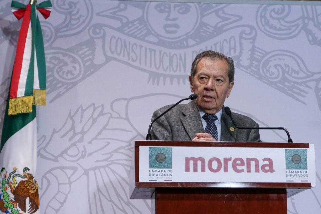 Muñoz Ledo no para críticas contra AMLO: Ejecutivo está mareado de poder y es autoritario