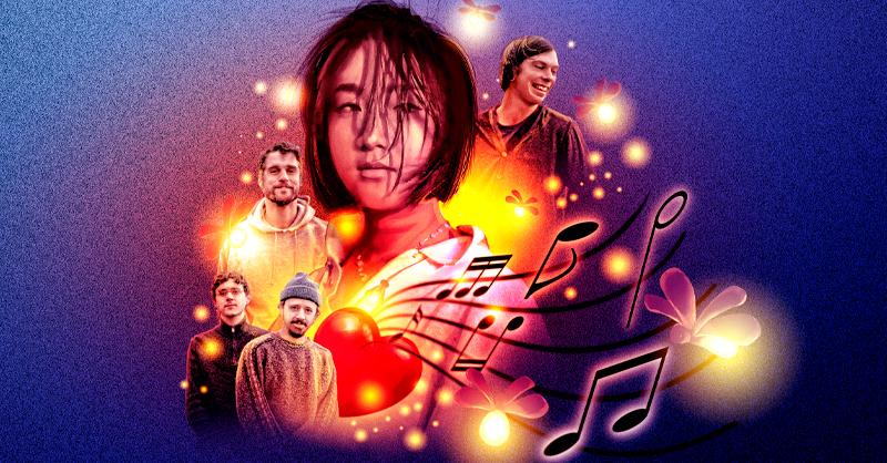 Audrey Kang genera canciones con su banda Lightning bug