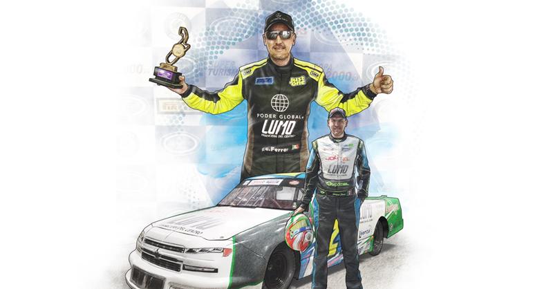 El confinamiento le abrió una puerta internacional a Enrique Ferrer, quien se aventuró a tomar el reto de ir a correr a NASCAR