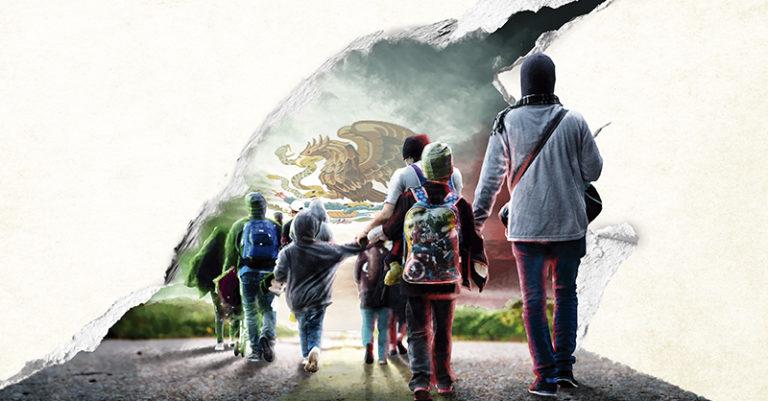Migrantes buscan ser considerados como refugiados por el Gobierno federal