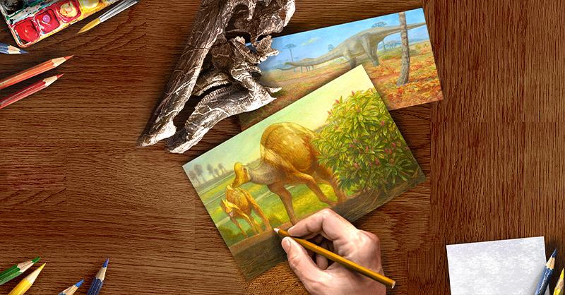 Los dinosaurios fueron especies gigantes que dominaron el planeta