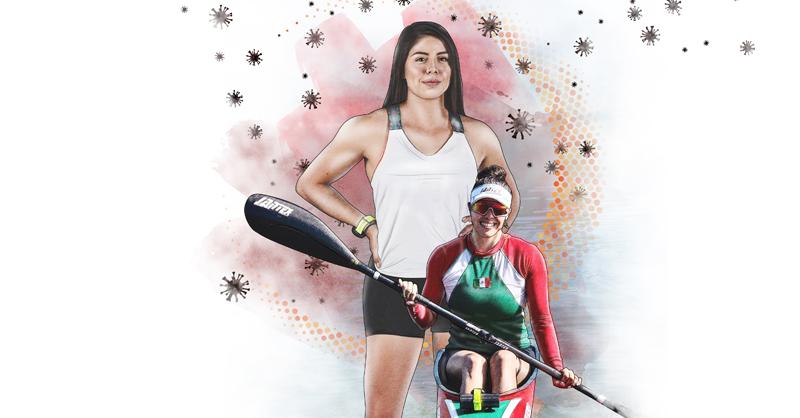 Brenda Galilea sueña con representar a México en canotaje en Juegos Olímpicos, pero antes debe superar la Copa del Mundo y las secuelas de la pandemia