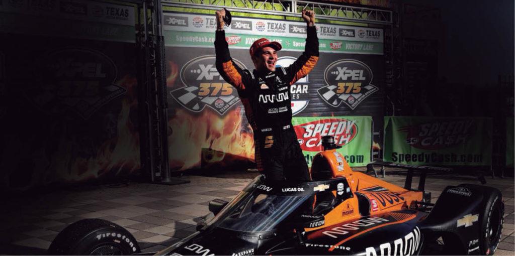 Patricio O'Ward se motivó con la promesa de probar un McLaren F1