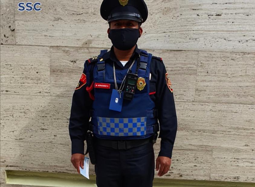Policía de CDMX halla cheque por 40 millones de pesos… y lo devuelve a empresa