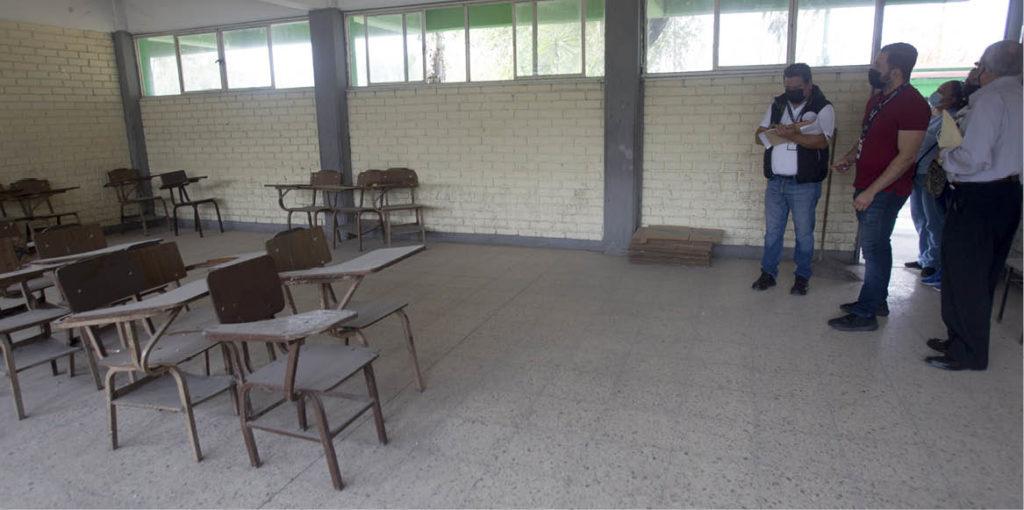 La organización Instituto Nacional de Consultoría Familiar solicitó a la Secretaría de Educación informar sobre la rehabilitación de escuelas