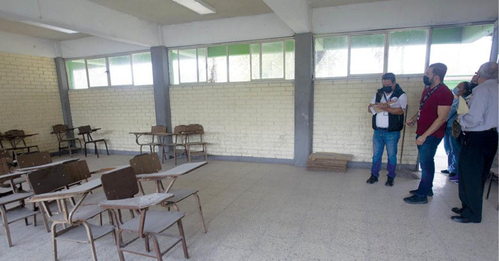 El Gobierno de la Ciudad de México informó que dio inicio con la rehabilitación e intervención de las escuelas