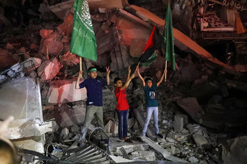 Inicia tregua entre Israel y Hamas; los palestinos claman victoria en las calles (VIDEO)