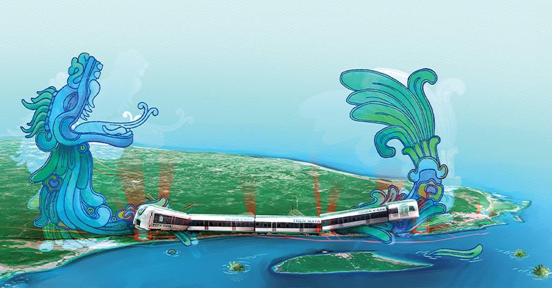 La construcción del Tren Maya podría provocar caos y afectaciones en el Caribe mexicano