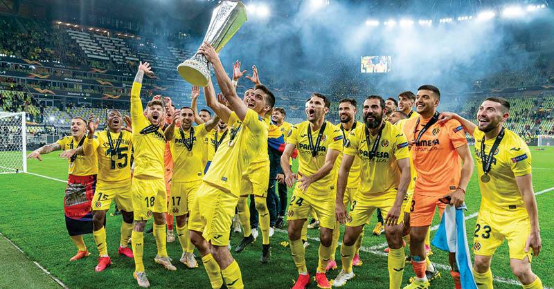 Villarreal impidió que los clubes ingleses monopolizaran los trofeos