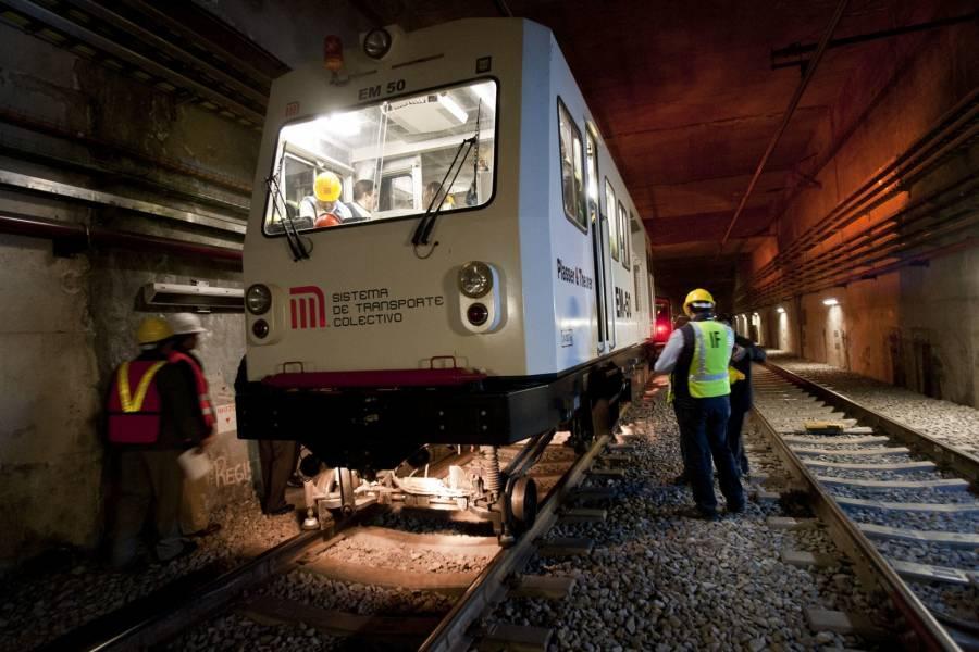 Túnel de L12 no tiene fallas estructurales, pero funcionará hasta terminar mantenimiento: CICM
