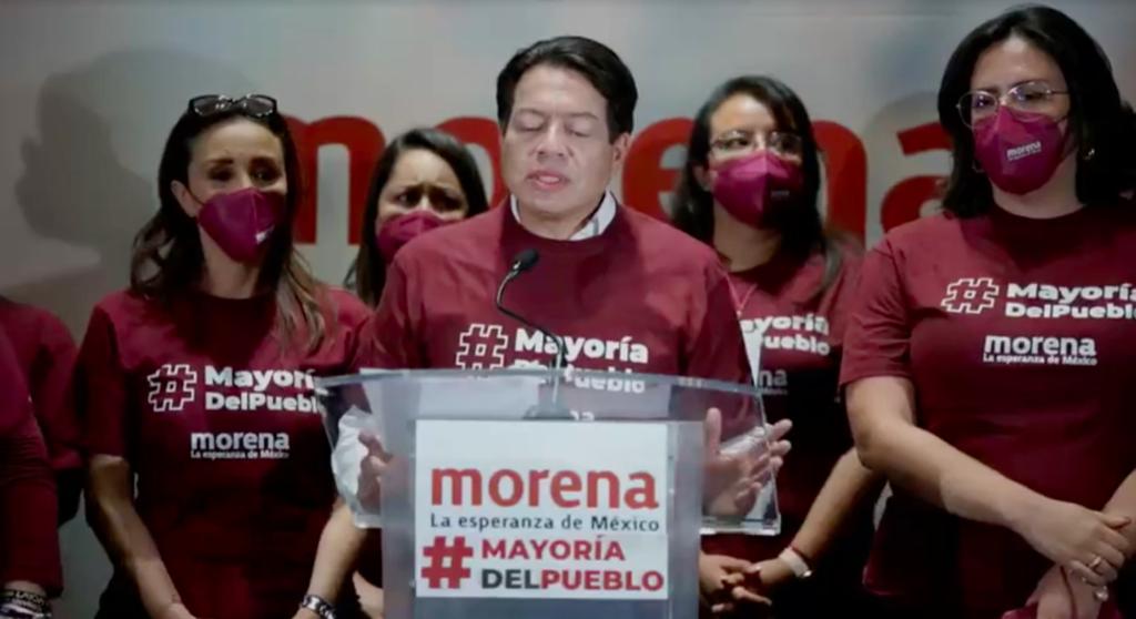 """""""Morena es nuevamente la primera fuerza política del país"""": Mario Delgado"""