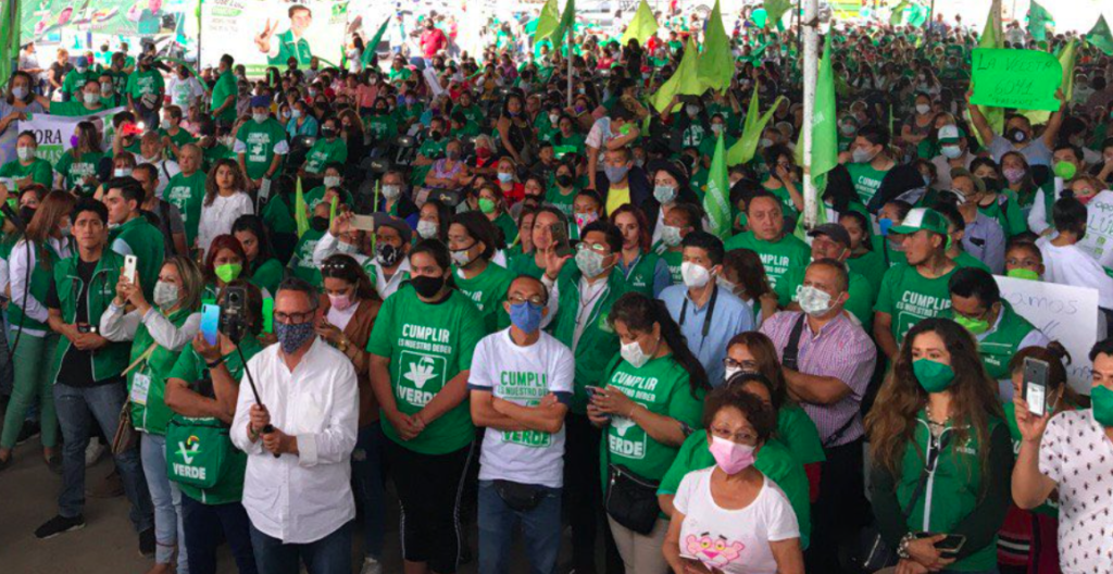 INE amenaza al Verde con retirar su registro por apoyo de influencers en veda electoral
