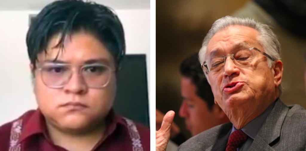 """Gibrán Ramírez llama """"patriota"""" a Bartlett y las redes sociales no se lo perdonaron"""