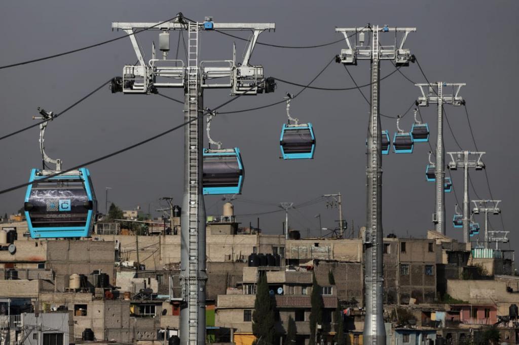 El Cablebús, nuevo teleférico CDMX, ya tiene tarifa y esto es lo que costará subir