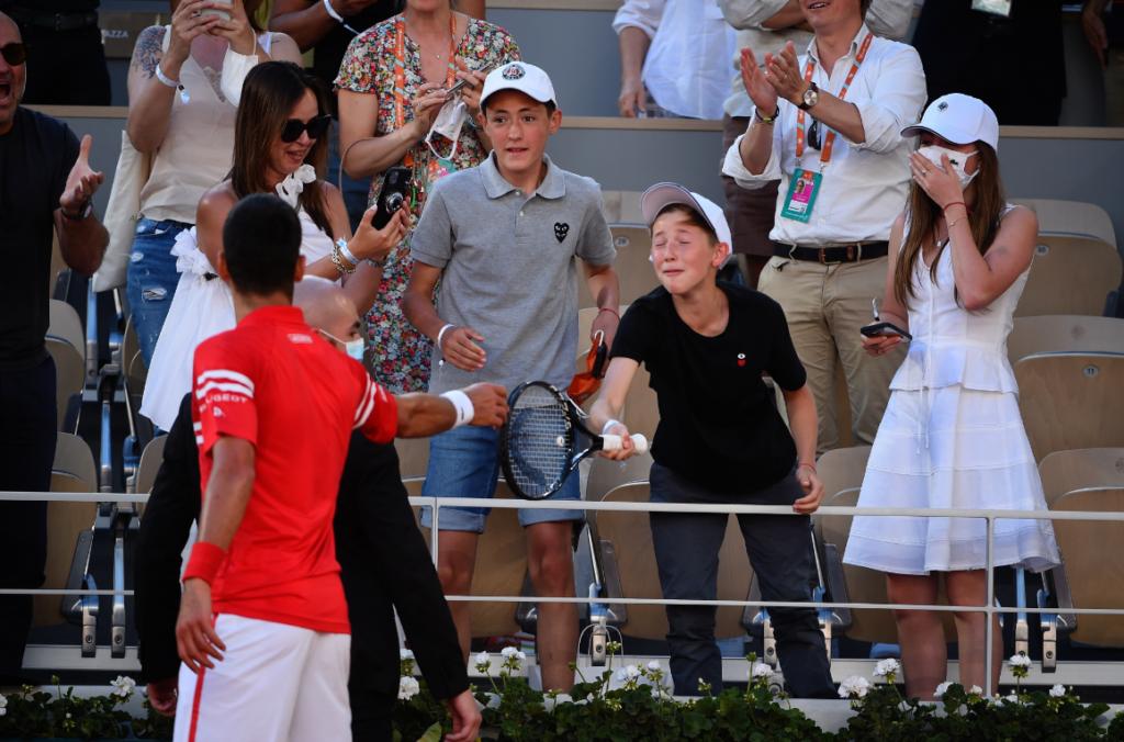 Niño al que Djokovic le regaló una raqueta es mexicano