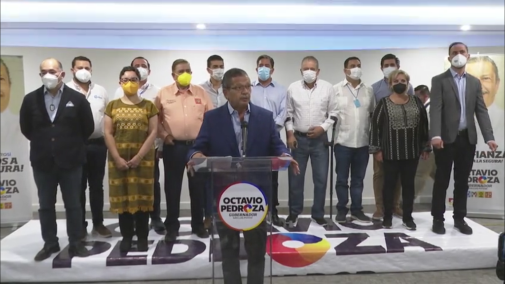 Rechaza Pedroza virtual victoria de Gallardo en SLP; pide que se abran paquetes electorales