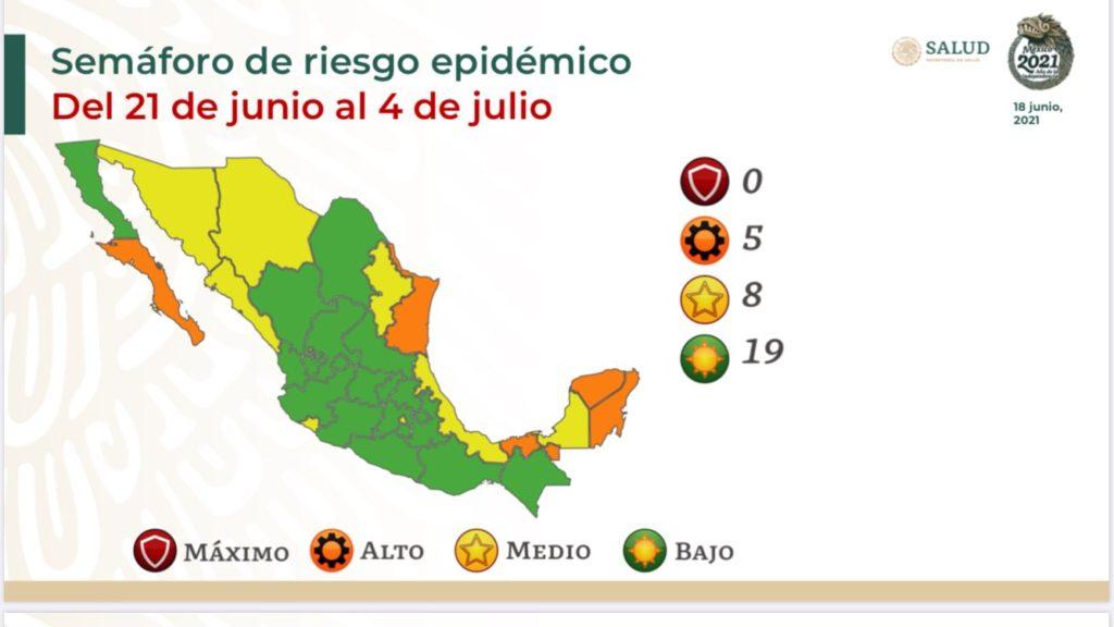 Secretaría de Salud regresa a CDMX a semáforo amarillo; duró sólo 15 días en verde