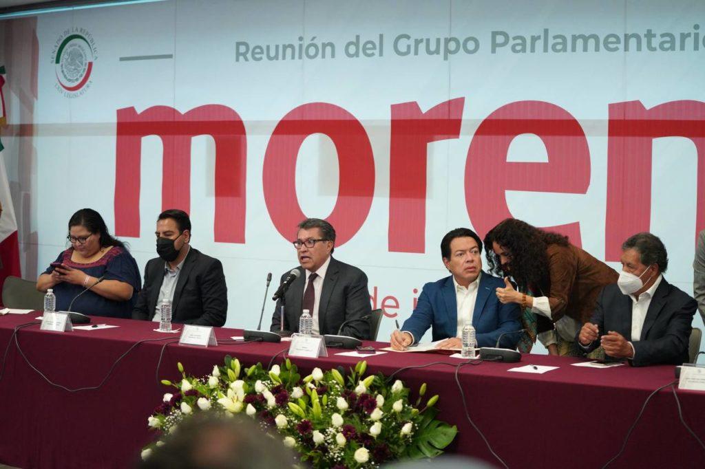 Entre reclamos por resultados electorales, senadores de Morena tienen encerrona con Mario Delgado