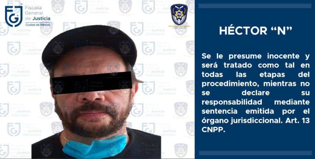 Fiscalía CDMX confirma detención de Héctor Parra por presunto abuso sexual contra su hija