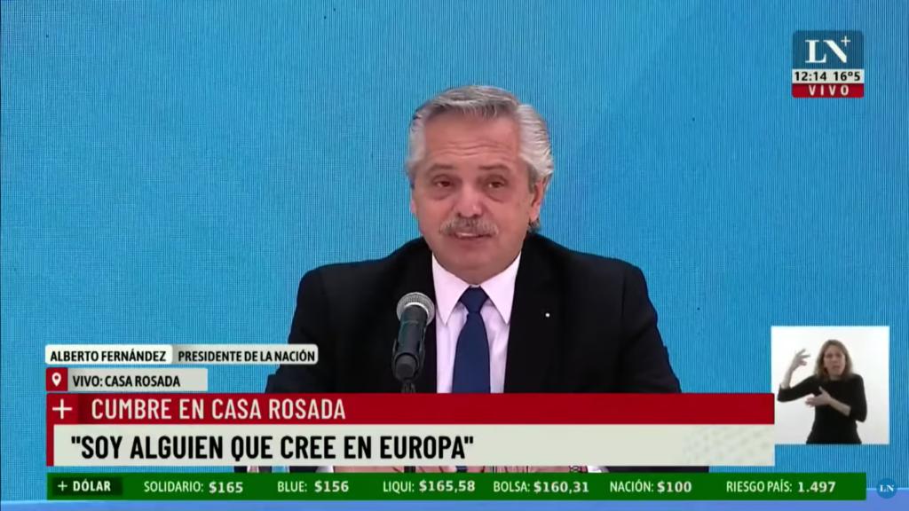 Alberto Fernández: Mexicanos salieron de los indios, Argentinos llegamos de Europa