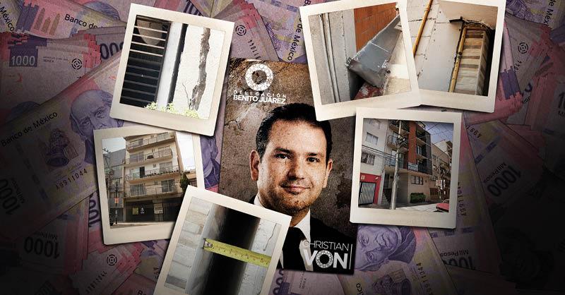 En la alcaldía Benito Juárez hay dos fantasmas de la corrupción inmobiliaria