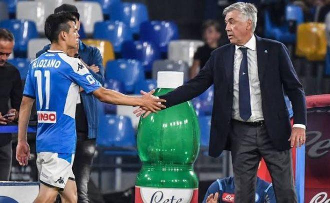 """¿Chucky Lozano llegará al Real Madrid? Ancelotti dice """"le tengo mucho cariño"""" (VIDEO)"""