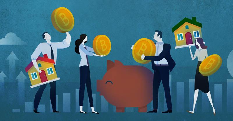 Las criptomonedas y los bienes raíces son aliados para protegerse de la inflación