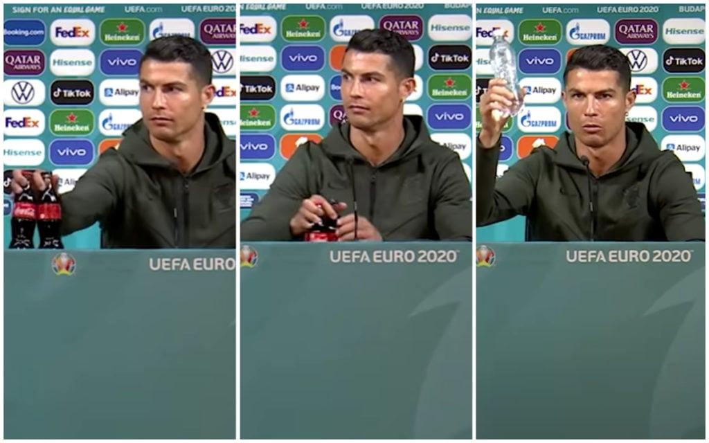 """UEFA pide a jugadores no """"hacer un Ronaldo"""""""