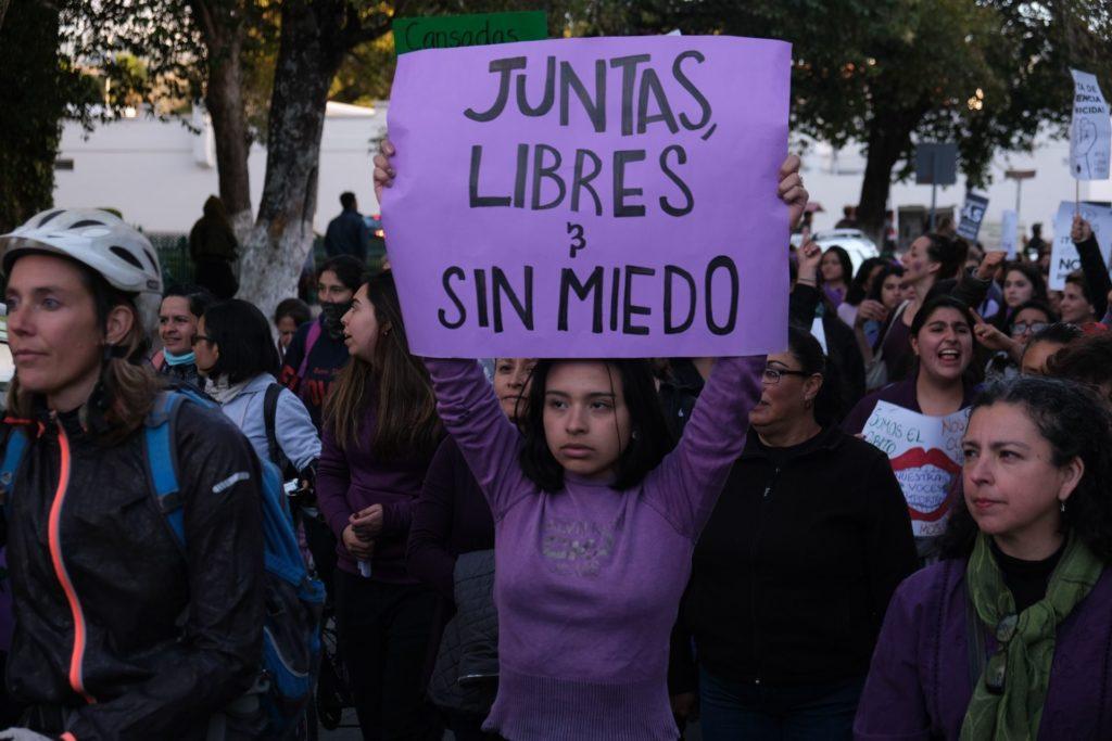 Ante crisis de derechos, mujeres exigen a las y los candidatos romper el pacto patriarcal