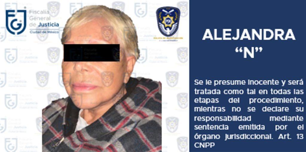 Por extorsión y robo, detienen a Alejandra Barrios, lideresa de comerciantes del Centro