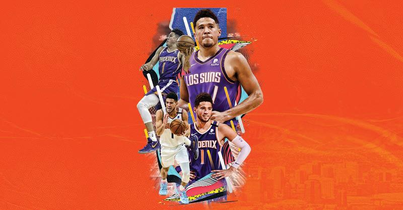 Devin Booker nació y creció en Estados Unidos, pero el escolta de los Suns está orgulloso de sus raíces mexicanas