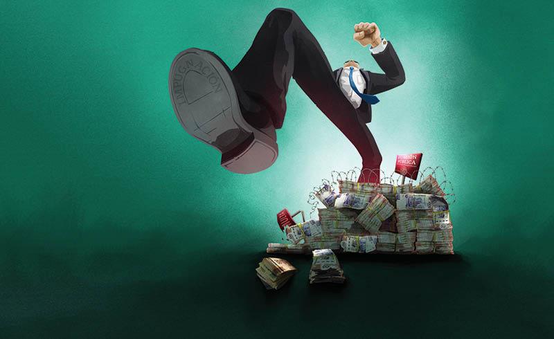 Las sanciones contra exservidores públicos y empresas acusadas de actos de corrupción se intentan aplicar con base en expedientes endebles