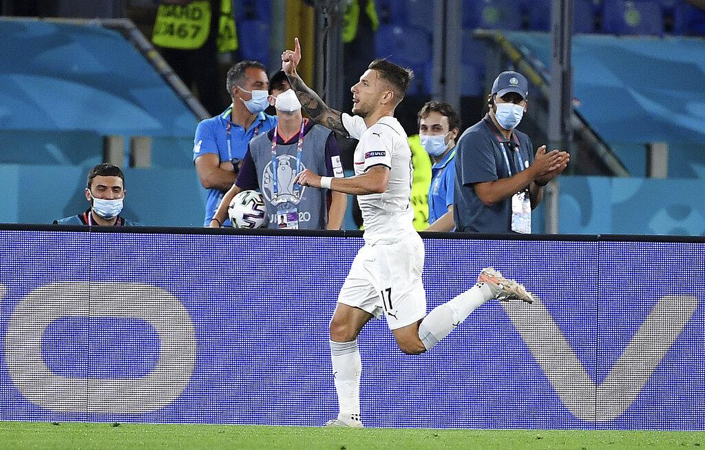 Italia golea y se enfila hacia la segunda ronda de la Eurocopa