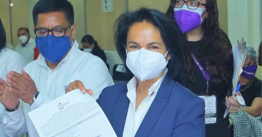 La alcaldesa electa de Azcapotzalco, Margarita Saldaña, afirma que está de acuerdo con revitalizar la industria