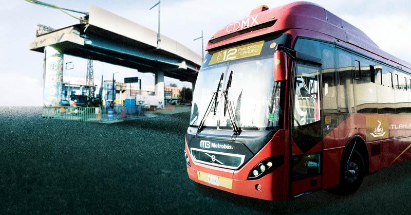 El Metrobús en Tláhuac ya está en operaciones