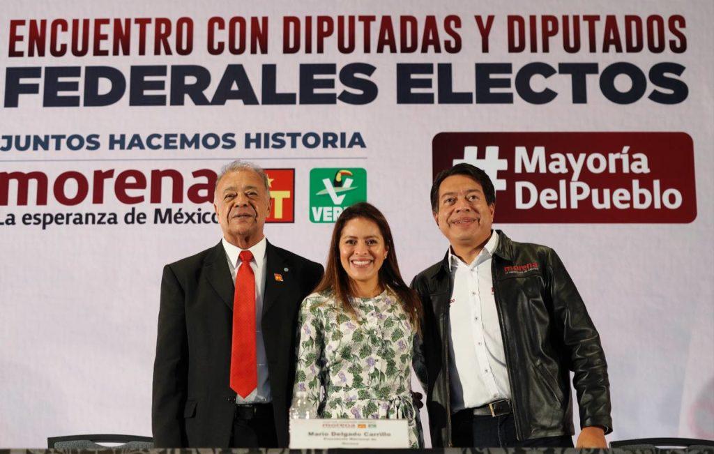Morena, PT y PVEM refrendan alianza y apoyo a AMLO… pero con algunas reservas