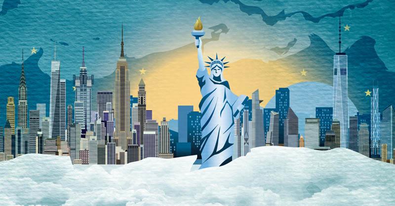 Nueva York es un referente a nivel mundial por sus centros financieros y de negocios