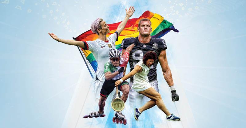 Estos deportistas pelearon y le dijeron al mundo quiénes son; hoy, en el Día del Orgullo LGBT te contamos su historia