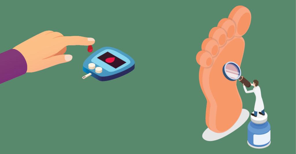 """El llamado """"pie diabético"""" es una de las complicaciones más temidas por los pacientes cuando no llevan un buen control glucémico"""